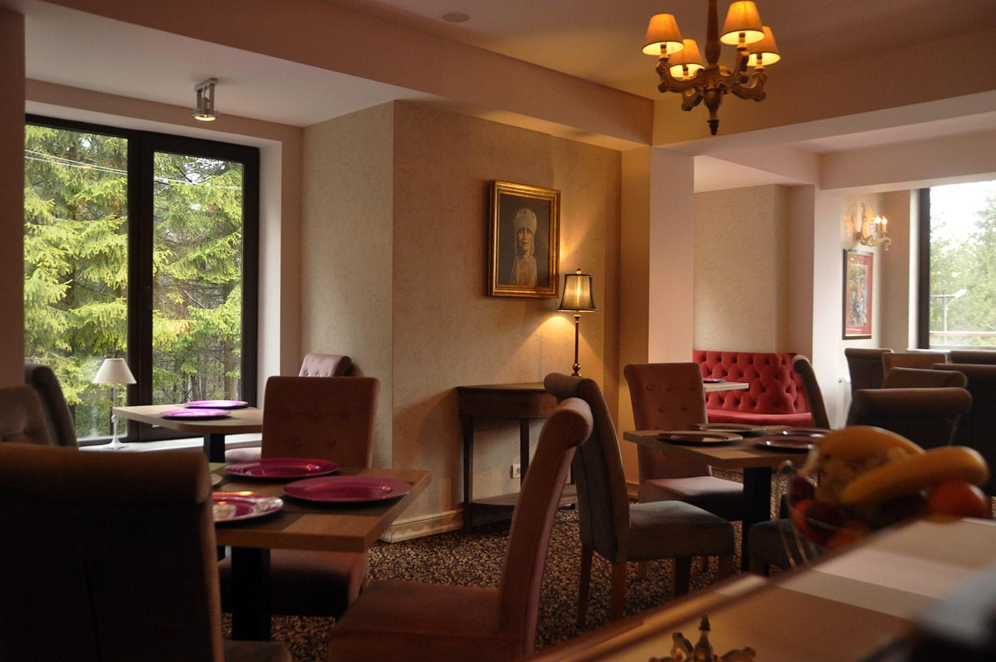 Restaurant Arlequine Sinaia, Vila Oblique