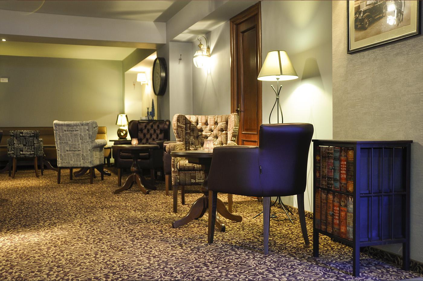 Lounge Library, Villa Oblique